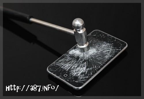 iphone6plus割れやすい
