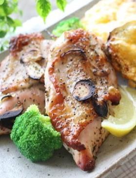 鶏むね肉でローストチキン