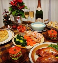 クリスマスディナーの画像2