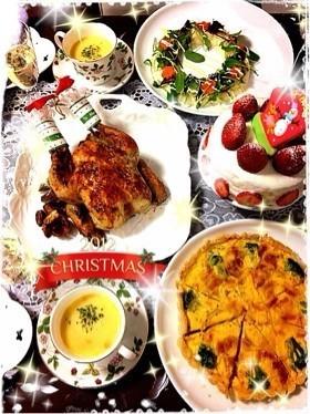 クリスマスディナー画像4