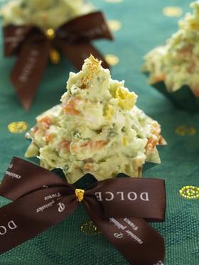 クリスマスツリーサラダのレシピ