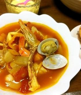 地中海食・ブイヤベースのレシピ