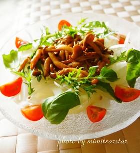 地中海食・きのこのバルサミコソテーのレシピ