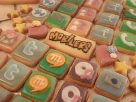 バレンタイン用アイシングクッキー