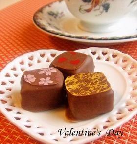 バレンタイン本命チョコ・話題入りレシピ