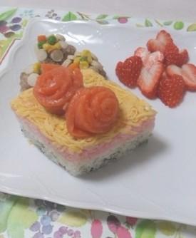 ひし形・ちらし寿司レシピ2