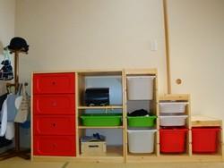 IKEA(イケア)ランドセルラックDIY