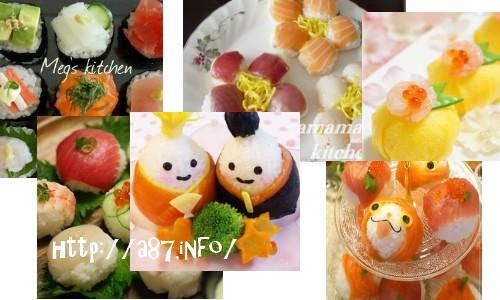 手まり寿司の簡単可愛いレシピ