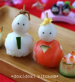 ひな祭り・お花見の手まり寿司2