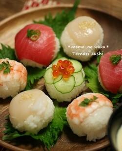 手まり寿司の簡単レシピ6