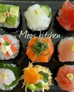 手まり寿司の簡単レシピ9