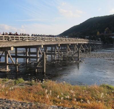 京都観光・渡月橋