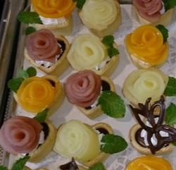 バラのタルトケーキ・ミニのレシピ