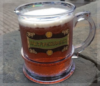 USJハリーポッターのバタービール