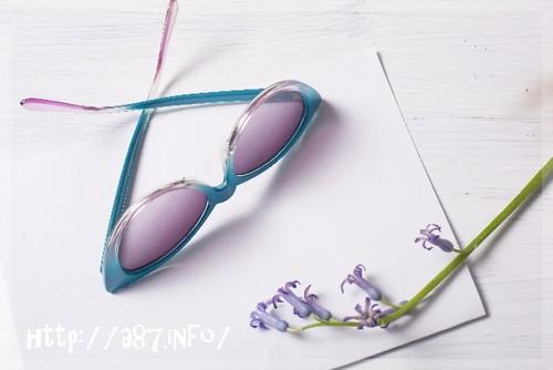 紫外線対策サングラス