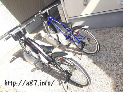 自転車スタンド画像